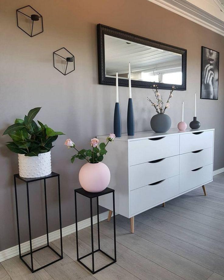 40+ Mid Century Modern Living Room Idées de décoration #homedecorideas #homedecor #farmh … – Angelica Heitzinger Décoration Blog