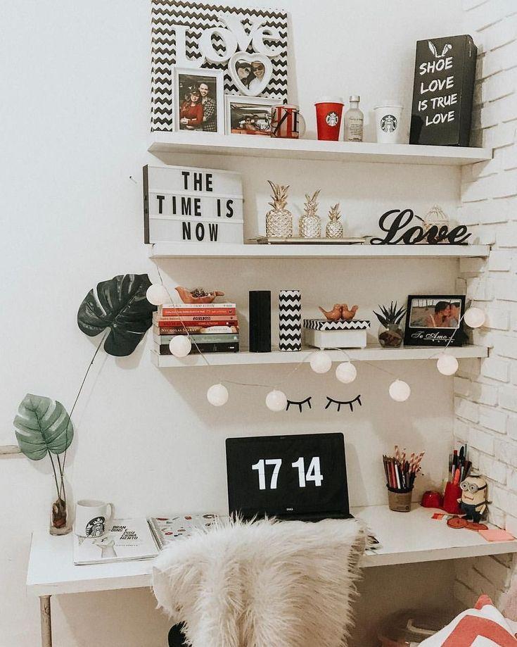 40 adorables idées de décoration pour le bureau à domicile de Diy avec instructions