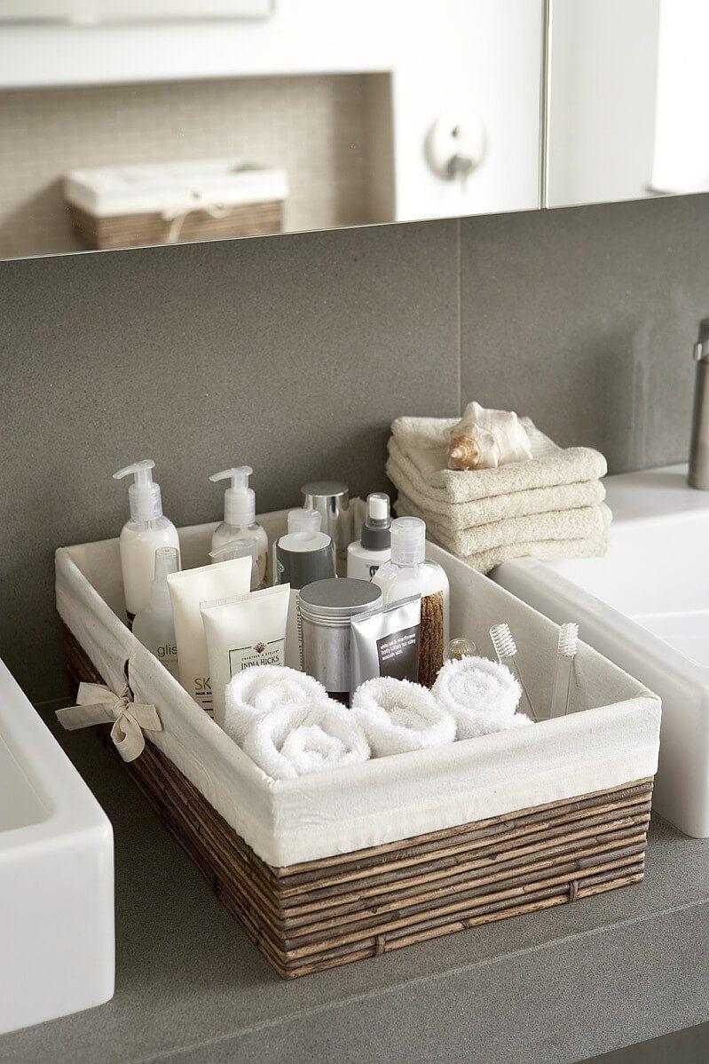 44 idées de rangement créatives pour organiser votre petite salle de bain