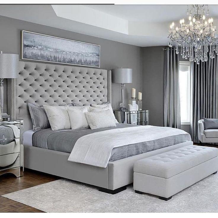 44 idées simples et modernes pour la conception de la chambre à coucher