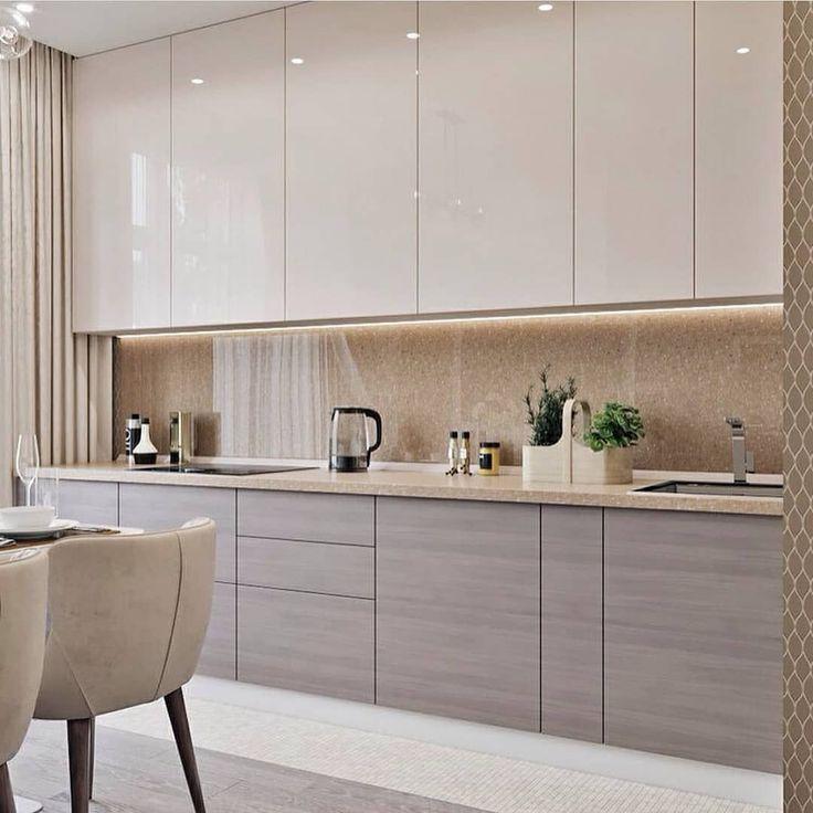 45+ Design de cuisine modulaire moderne à voir absolument AUJOURD'HUI – #design…