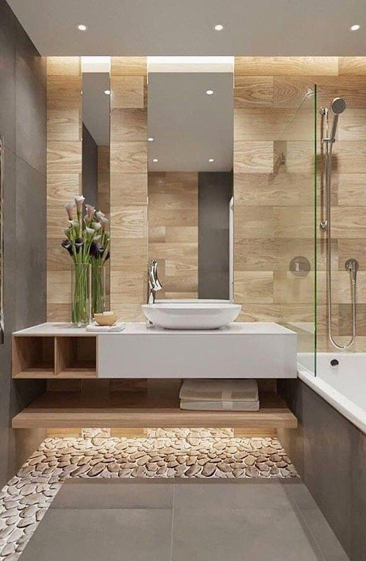47 idées de remodelage de salle de bain inspirantes à essayer …