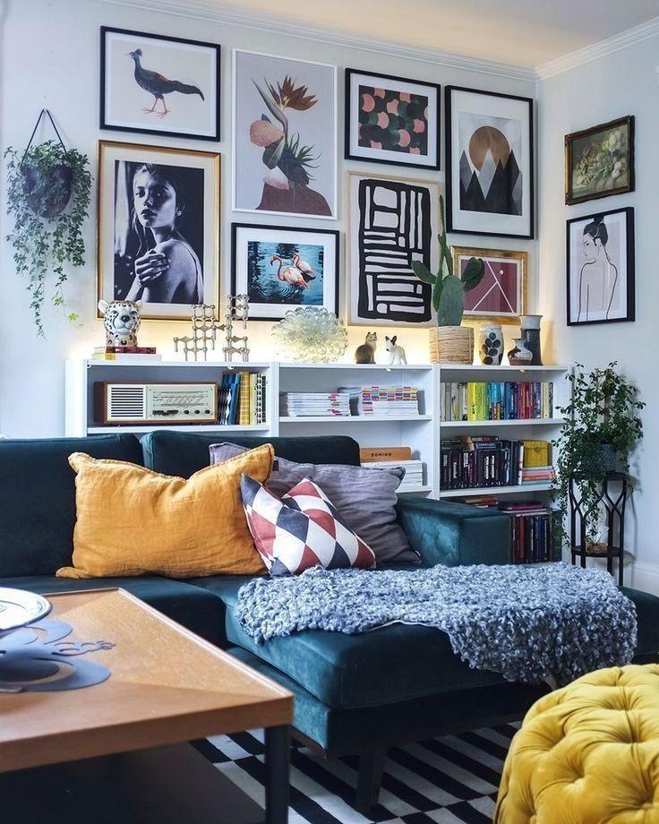 48 plus récents petits appartements de décoration de salle de séjour – HOMYFEED