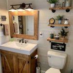 48 idées de conception de salle de bains délicate pour petit appartement sur un budget - #Appartement #Bathroom #Budget #Delicate #Design