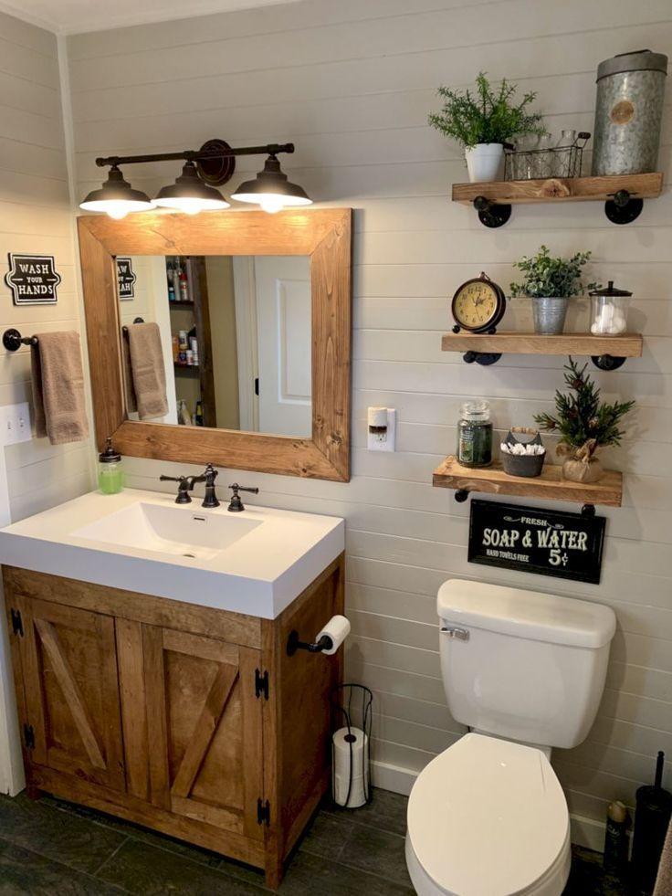 48 idées de conception de salle de bains délicate pour petit appartement sur un budget – #Appartement #Bathroom #Budget #Delicate #Design