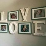 48 idées de décoration de mur de salon de ferme facile Diy