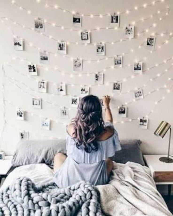 49 idées de décoration de chambre d'ado faciles et mignonnes pour fille