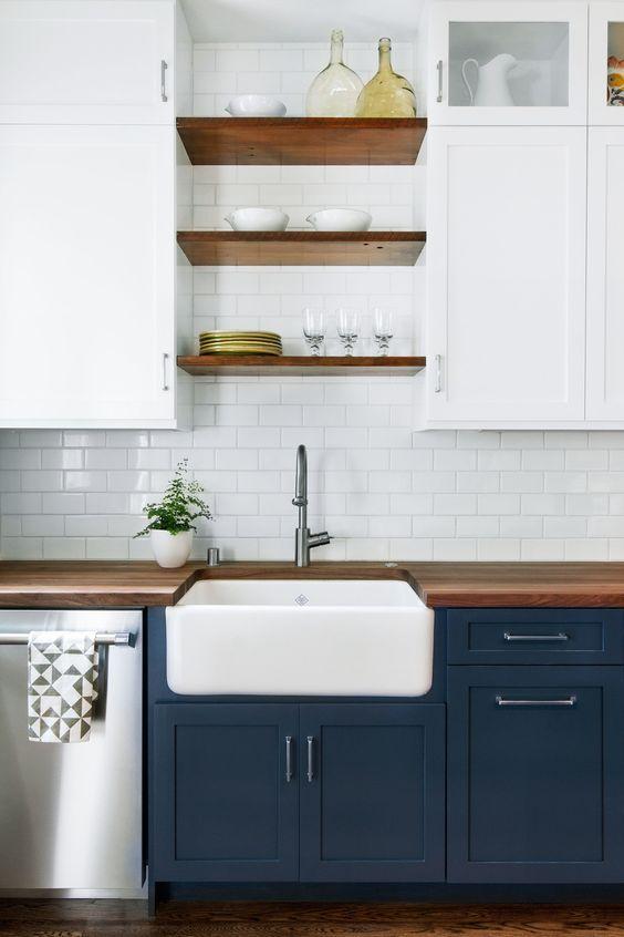 50 idées de cuisine bleue – Décoration de la chambre