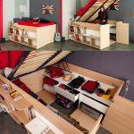 51 lits plateforme modernes pour une chambre rafraîchissante