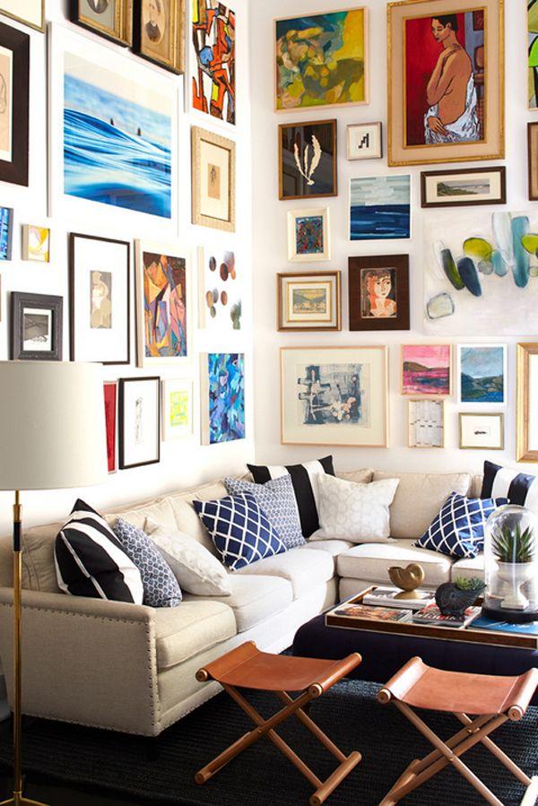 51 petits salons inspirants utilisant tout l'espace disponible