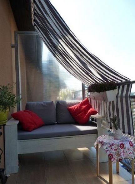 52 Appartement tendance intimité balcon Ikea