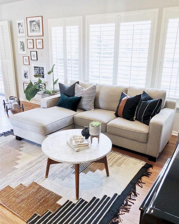 62+ beaux tapis pour des idées de décoration de salon de ferme