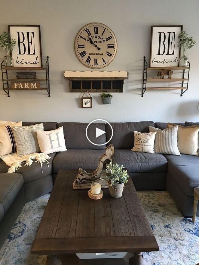 62 brillantes idées de décoration de salon et de conceptions pour les petites maisons …