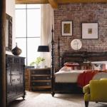 64 superbes idées de meubles de chambre à coucher en bois sombre