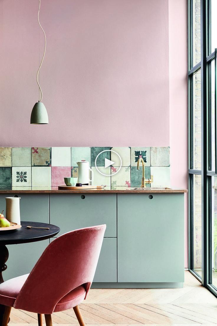 7 Idée de couleurs vives dans la cuisine   Idées de décoration de maison – Partie 2