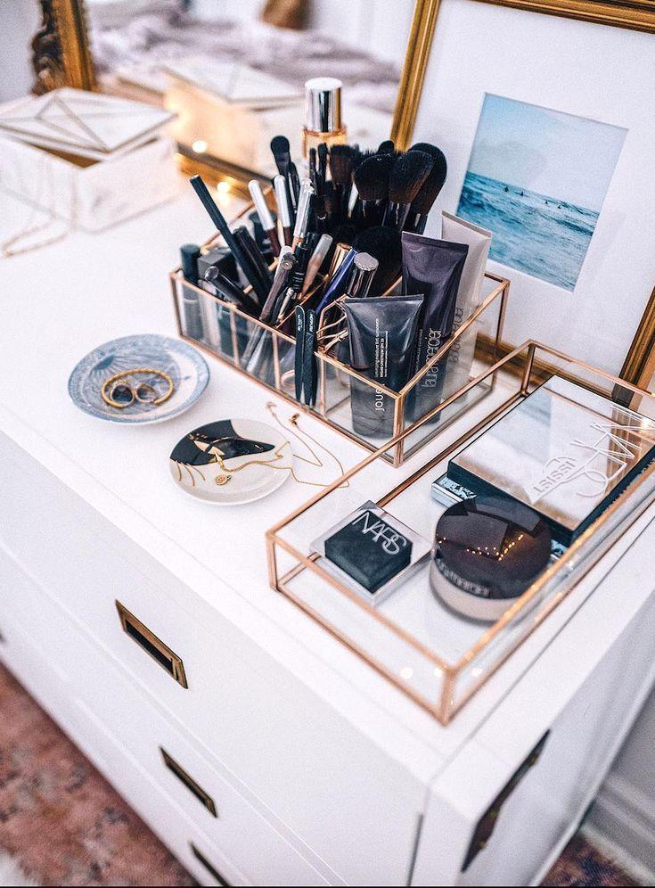 8 idées de bricolage simples pour organiser le maquillage en fonction de votre personnalité …