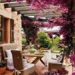 9 des meilleurs meubles de jardin définit un décor de ferme d'été, un décor de ferme d'été