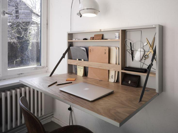 À quelle fréquence êtes-vous vraiment assis au bureau? Que diriez-vous de cette solution de pliage super élégante?