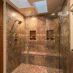 Amazing Master Bath Renovation à Denver avec une immense double douche