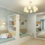 Aménagement chambre deux enfants - 25 idées astucieuses