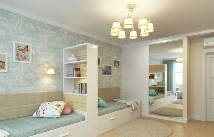 Aménagement chambre deux enfants – 25 idées astucieuses