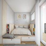Aménagement petite chambre -utilisation optimale de l'espace