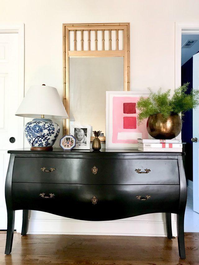 Apprenez à taper des meubles classiques dans une méthode tendance #Traditionaldecor …