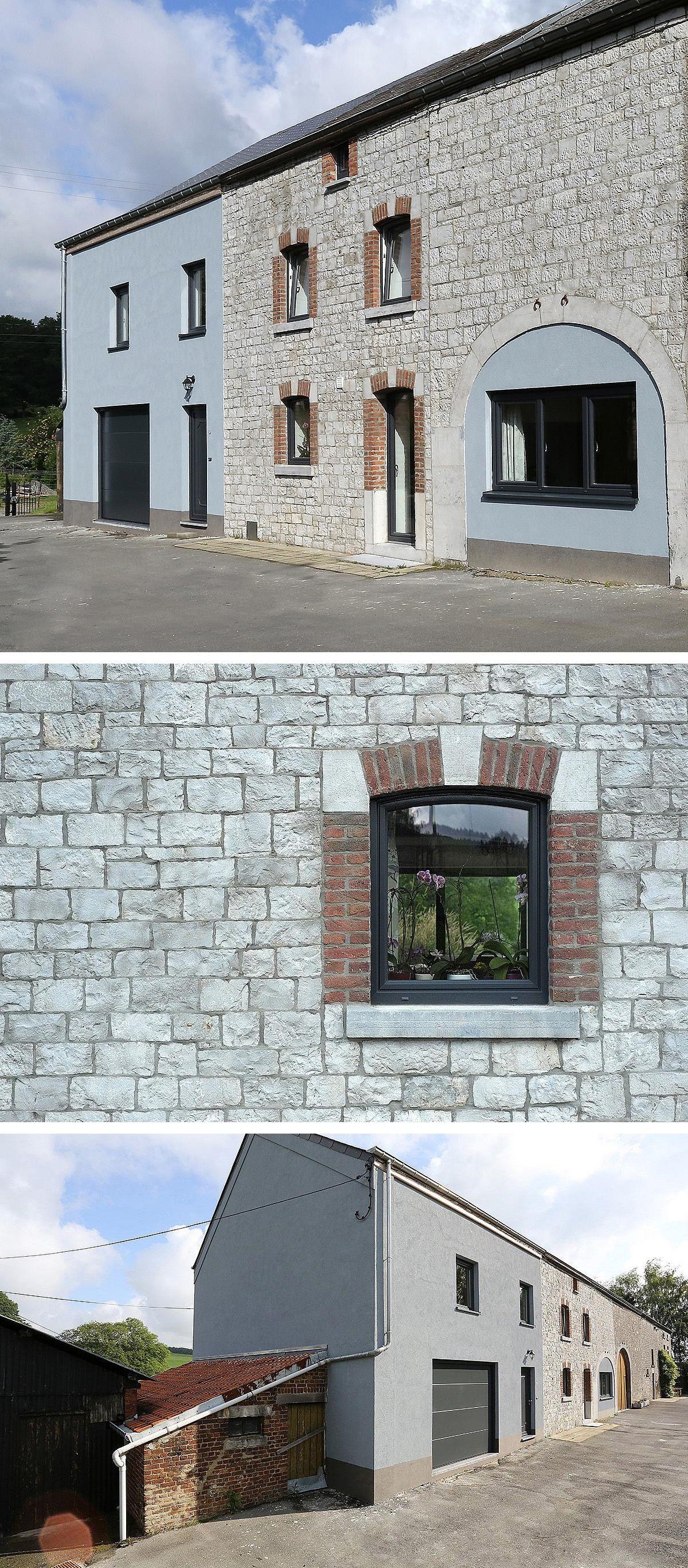 #Architecte : BA LUX  Descriptif #projet : Aménagement d'une ancienne #grange…