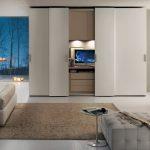 Armoire blanche dans la chambre à coucher – 25 designs modernes