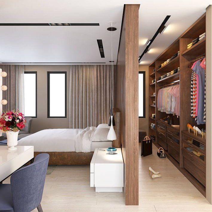 Armoire de chambre dans un espace! #bedroom #closet #design #decor
