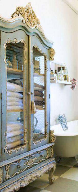 Armoire rangement pour salle de bain