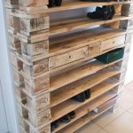 Armoires à chaussures - Une étagère à chaussures XXL faite de palettes! - un design unique de Woodful b ...