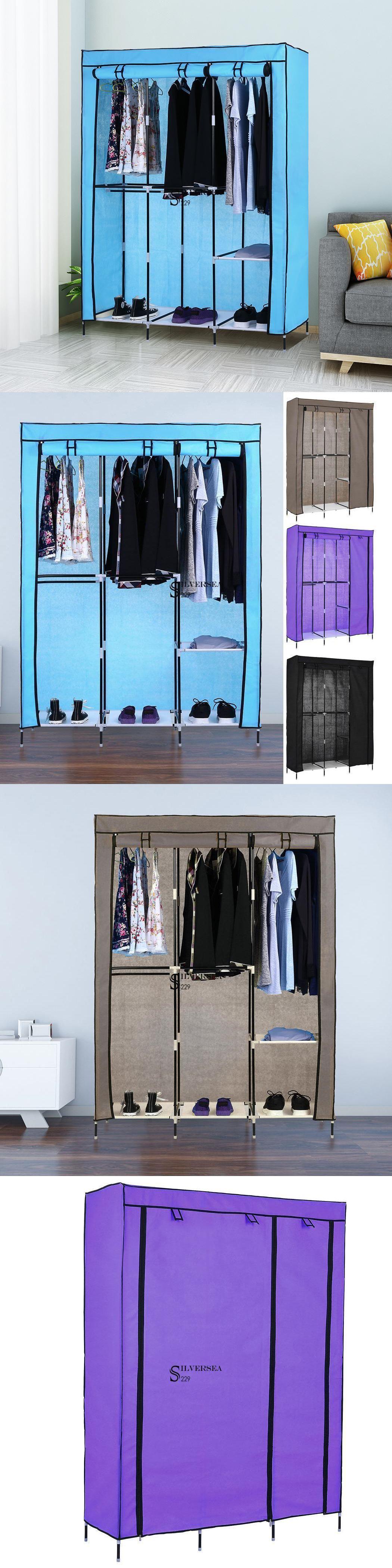 Armoires et penderies 103430: Home Space Saver, organisateurs de vêtements Cabinet Wardr …