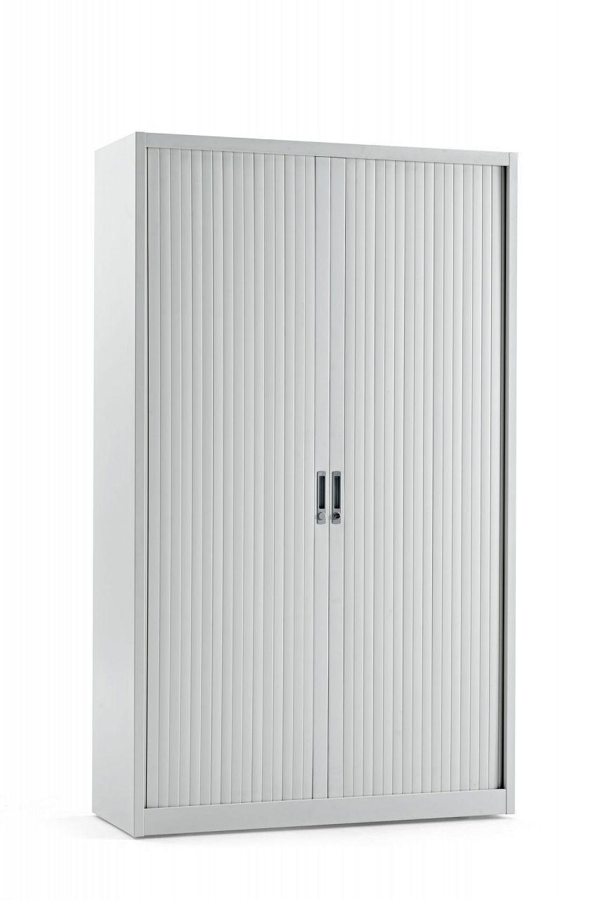 Armoires métalliques avec portes à charnière, étagères ou tiroirs