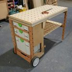 Atelier portable du CFMF - #MFTC #Portable #workbench #Workshop