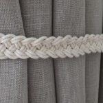 Attaches pour rideaux en corde Rideaux de chambre d'enfant Décor Gypsy Boho Accessoires Attaches pour rideaux en corde Crochets pour rideaux Rideaux de retenue pour rideaux
