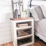 Ayla Farmhouse nightstand, wooden nightstand, Farmhouse nightstand set, rustic nightstand, accent table, end table, Farmhouse nightstand