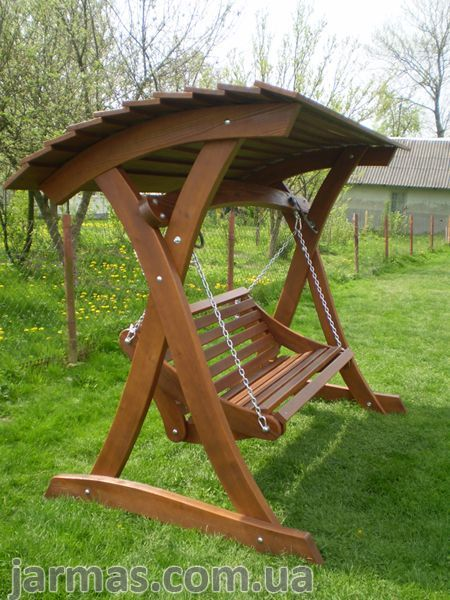 Balancez Garden. Gazebos balançoires en bois, balançoires, … # meubles de jardin #p …