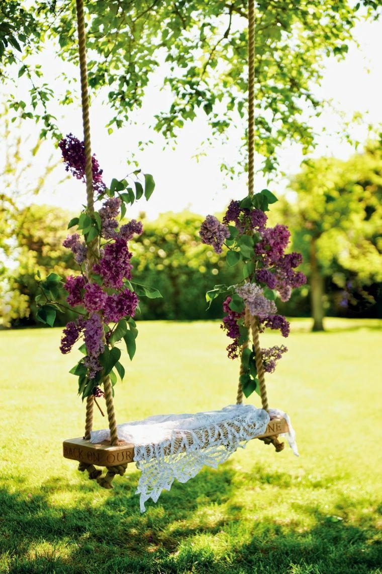 Balançoires de jardin – les meilleures idées pour cet été