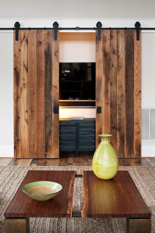 Belles idées de design d'intérieur pour le salon avec télévision