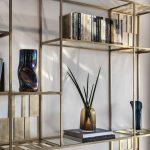 Bibliothèque en métal