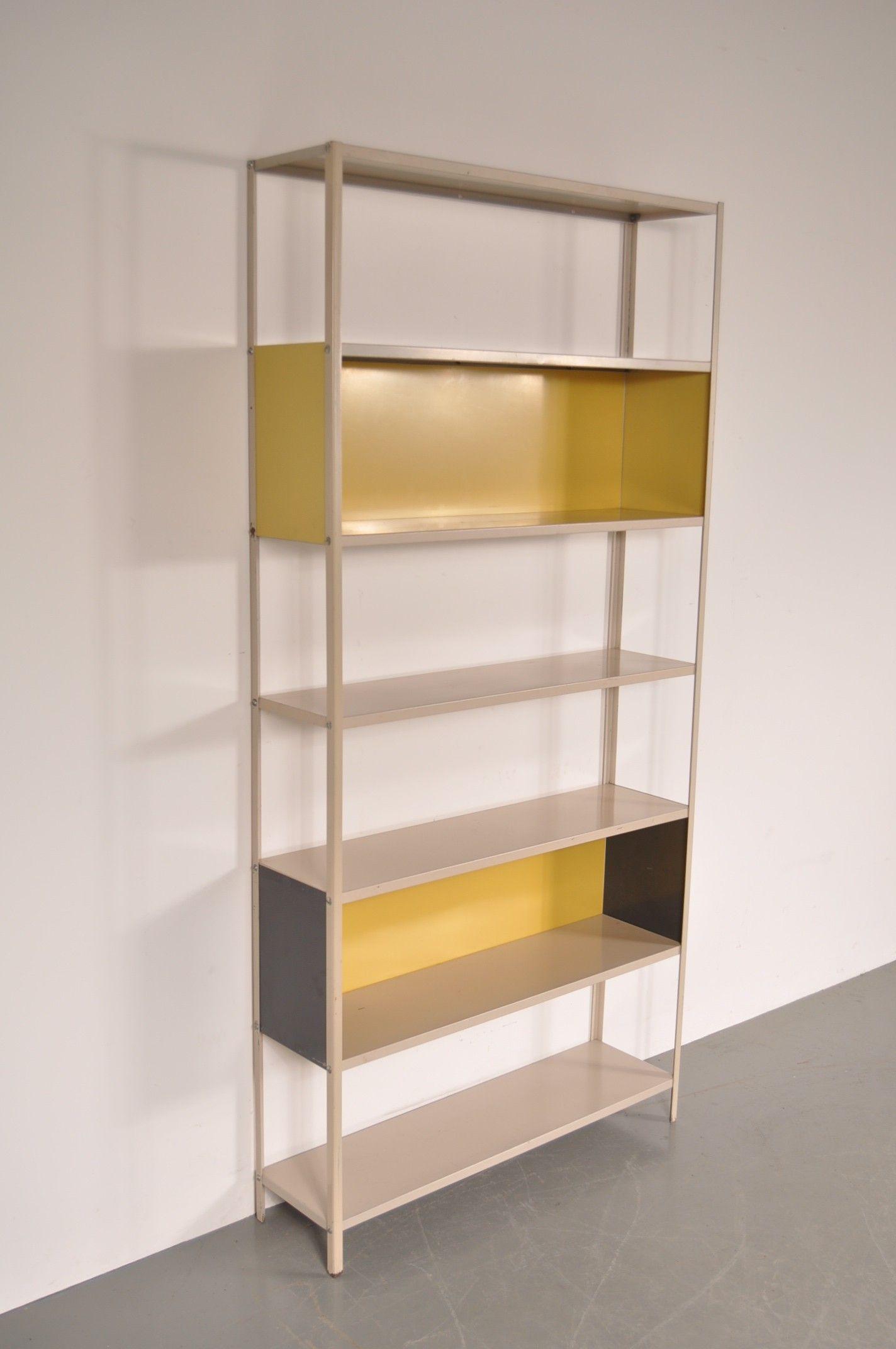 Bibliothèque en métal, Friso KRAMER – 1950
