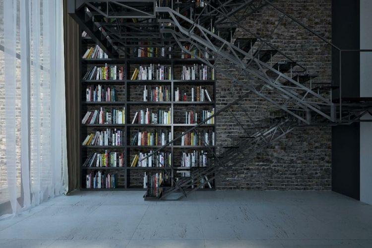 Bibliothèques pour salons – designs modernes et fonctionnels