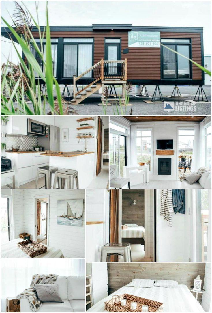 Billy The Tiny House – Petite maison à vendre à Napierville, Québec
