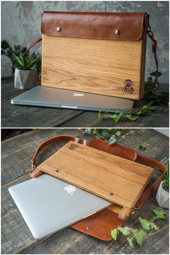 Bois, Macbook Macbook Bois Macbook Pro Bois, Macbook Air en bois, Pochette Macbook, Pochette Macbook Air, Porte-document Macbook, Macbook en bois, Cadeau Macbook