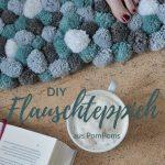 Bricolage: fabriquez vous-même le tapis avec des pompons!