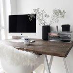 Bureau de style scandinave - si moderne et frais. theultralinx.com