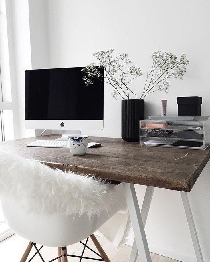 Bureau de style scandinave – si moderne et frais. theultralinx.com