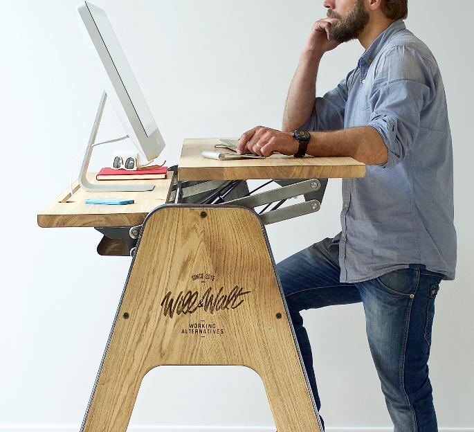 Bureau debout pour le bien-être au travail – Flipboard Premium // Standing desk…