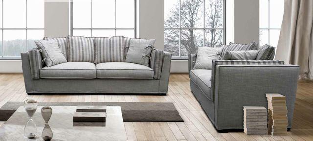 Canapé RIVIERA, un design cosy et moderne à la fois, un accueil moelleux avec …